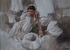 History Of Pakistan, Woman Painting, Homeland, Pakistani, Art Gallery, Artist, Art Museum, Artists