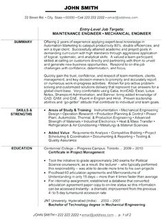 sample resume of an electrical engineer.html