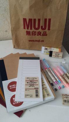Muji pens and stationary!
