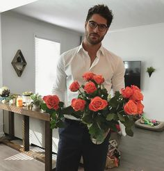 "Nick Bateman - ""You know what day it is "" Happy Valentine's Day #people #love #EyeCandy"