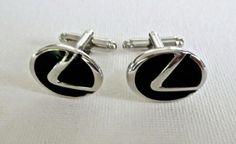 Online veilinghuis Catawiki: 1 set Lexus manchetknopen / cufflinks - metaal