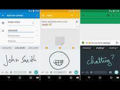 Escritura a mano de Google para Android