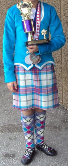 Kilt with blue jacket Stewart Tartan, Plaid Christmas, Kilts, Dancing, Pink, Jackets, Blue, Dresses, Fashion