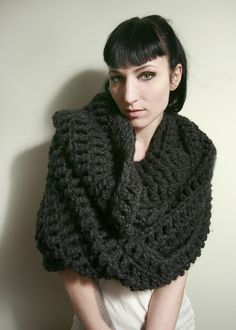 Hey, I found this really awesome Etsy listing at https://www.etsy.com/listing/58644238/sale-the-tallulah-wrap-scarf-in-charcoal