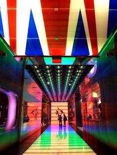米国ラスベガスのホテル「ミラージュ」にて。Hotel Mirage in Las Vegas, USA.