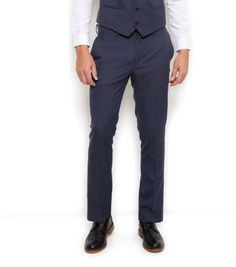 New Look Blue Basic Suit Trousers #suit #formal #covetme