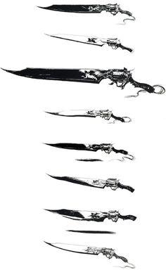 Gunblades - Final Fantasy VIII Art