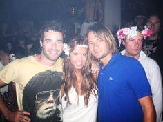 Con Naty y Juan en Pacha Ibiza