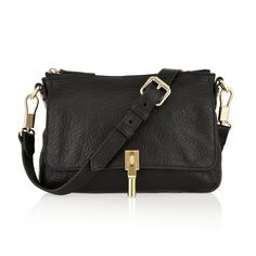 Rank & Style - Elizabeth & James Elizabeth and James Cynnie Micro Textured-Leather Shoulder Bag #rankandstyle - I'm interested in the large version of this