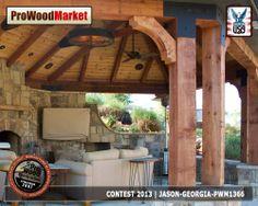 Cedar Bracket from Pro Wood Market