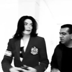 miss-you-michael-jackson:  Michael was so funny :D♥  My heart.