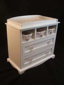 """Wooden Doll Changing Table 