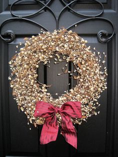 Valentine Wreath  Berry Wreath  Everyday by EverBloomingOriginal, $59.00