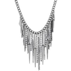 Crafted Spike Chain Necklace