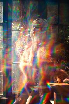 photo Rainbow photography creative portrait photo idea inspiration low budget colorful The Gardens a Mode Bizarre, Art Photography, Fashion Photography, Rainbow Photography, Petra Collins, Photographie Portrait Inspiration, Moon Magic, New Moon, Fashion Lookbook