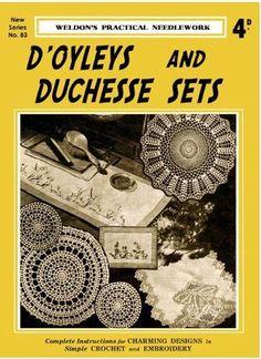 1934 vintage crochet home decor book