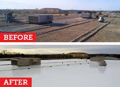 Single coat with less labor cost, less weight, less expense and high quality is only possible with EPDM coatings.  Learn more about EPDM coating below: http://www.epdmcoatings.com/