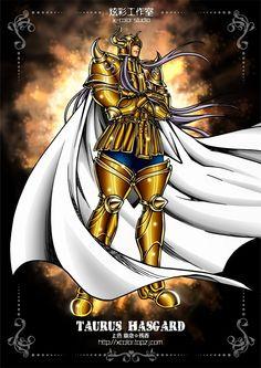 Saint Seiya - Gold Saint Taurus no Aldebaran (Rasgado) - Lost Canvas