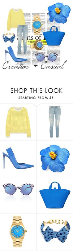 """""""Izolda"""" by shein ❤ liked on Polyvore featuring Marni, Paige Denim, Philippe Model, Michael Kors, Brooks Brothers and Mawi"""