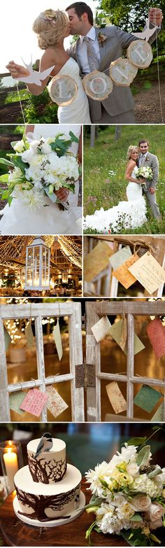 Real Vintage Shabby Chic Wedding: Katheryn + Justin