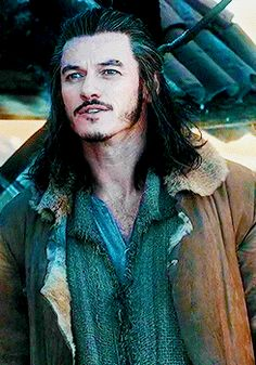 Luke Evans in The Hobbit: The Desolation of Smaug