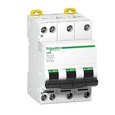 Jual : Schneider ACTI9 IC60N 3P 63A C MINIATURE CIRCUIT B (3 Phase 63 Ampere) - Alat Listrik dg Harga Murah.  - MCB Acti9 3 Pole - Berkualitas tinggi - Berstandar SNI - MCB dengan Visitrip - Harga untuk 1 Buah.  http://kliklistrik.com/acti9/283-schneider-mcb-acti9-ic60n-3p-63a-c-miniature-circuit-b.html  #schneider #acti9 #mcb