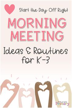 Check out the morning meeting ideas with ready-for-you greetings, questions for sharing, activities, games, and messages. Grab a FREE week of powerpoint morning meeting slides to simplify your routine and build social-emotional skills in Kindergarten, first grade, or second grade! Morning meetings are a wonderful time to spend with your class, build relationships, and get ready for the day. #morningmeeting #socialemotionallearning #responsiveclassroom #socialskills #classroommeeting