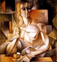 Le Gouter/Teatime or Woman With a Teaspoon, 1911, Jean Metzinger