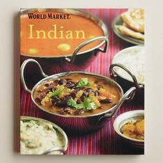 One of my favorite discoveries at WorldMarket.com: World Market Indian Cookbook