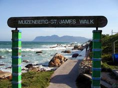 Muizenberg to St James - walk along the beach - Cape Town. Places To Travel, Travel Destinations, Places To Visit, The Beautiful Country, Beautiful Places, Zimbabwe Africa, South Afrika, Nordic Walking, Cape Town South Africa