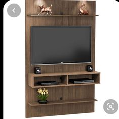 🌟 💖 🌟 💖 The panel For the TV At 47 Inches, the Vega Variable - fine furniture Bechara Tv Unit Decor, Tv Wall Decor, Living Room Tv Unit Designs, Bedroom Cupboard Designs, Tv Unit Furniture Design, Home Decor Furniture, Fine Furniture, Tv Rack Design, Deco Tv
