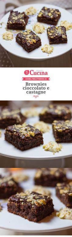 #Brownies #cioccolato e #castagne della nostra utente Alessia. Unisciti alla nostra Community ed invia le tue ricette!