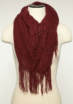 Box Weave Infinity Scarf | Cozy Casual | rue21