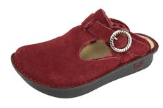 Alegria Shoes Classic Burgundy Shearling now on closeout!