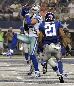 ... Dallas Cowboys tight end Jason Witten (82) makes a 15-yard touchdown  reception Womens Pittsburgh Steelers ... c72bfa6c3