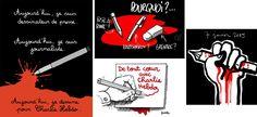 7 janvier 2015 Attaque de Charlie Hebdo: les hommages en dessins aux dessinateurs tués   Slate.fr