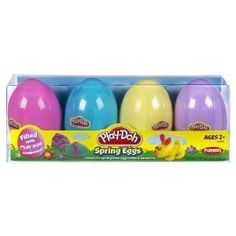Play Doh eggs