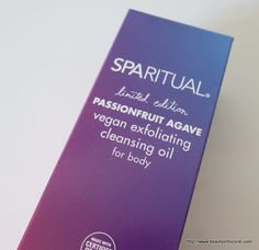SpaRitual Passionfruit Agave Exfoliating Body Oil