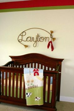 vintage cowboy whimsical spin on a cowboy nursery creams browns