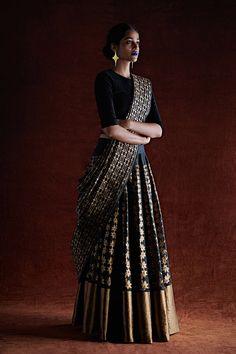 Fashion Tips Outfits .Fashion Tips Outfits Salwar Designs, Half Saree Designs, Lehenga Designs, Blouse Designs, Half Saree Lehenga, Saree Look, Lehnga Dress, Brocade Lehenga, Silk Brocade