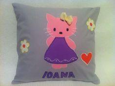 Happy Pillow- Hello Kitty- handmade pillow  35x35 cm  Order at: happy_pillows@yahoo.com