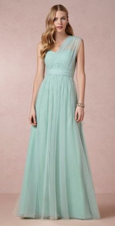 the 'Annabelle' bridesmaid dress - can be worn 8 different ways. color is close to bridesmaid color. Like the style/options.