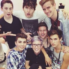 O2L and Tyler Oakley at VidCon