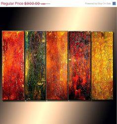 ORIGINAL modern  Abstract art Contemporary by newwaveartgallery, $810.00