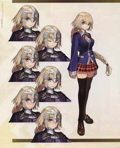 Joan of Arc (Fate/Apocrypha) Image - Zerochan Anime Image Board Joan Of Arc Fate, My Hero Academia Tsuyu, Miyamoto Musashi, Very Beautiful Images, Fate Anime Series, Best Waifu, Fate Zero, Pokemon Fan, Light Novel