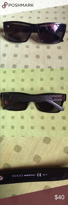 Men's Gucci Sunglasses Great Sunglasses. Great Price. Best Deal On The Net or Posh. No case which is why the price is discounted. Brand new. Direct from stores. Gucci Accessories Sunglasses
