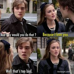 Chuck and Blair #GossipGirl