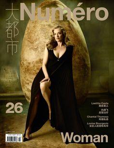 Numéro China cover with Tatjana Patitz - February 2013 - ID18311