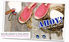 """the new """"Ahoy from Cape Cod"""" set from @BaubleBar -- need this for summer!!"""