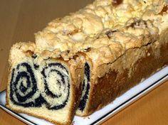 Mohnstriezel Rezept: Saftiger Mohnkuchen mit Hefeteig und Streusel mit oder ohne Thermomix